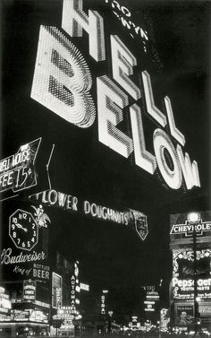 """Hell Below"" by Edward Steichen - Brooklyn, 1903. (And, as it says on my garters, ""Heaven's Above"") :-)"