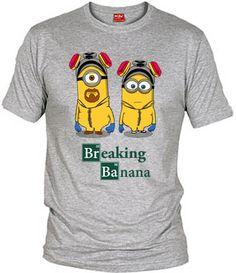 Camiseta Breaking Banana (por Melonseta) despicable me, breaking bad, fanisetas.com