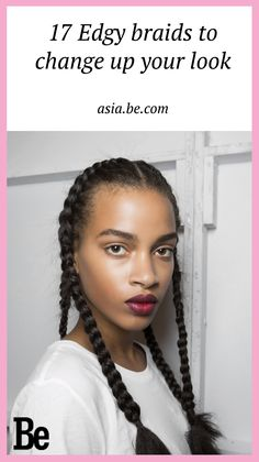If you're stumped on how to wear your hair try the versatile braid! #hair #braids #look #fashion #be
