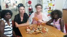 From left: Julie Ashley, Fiona Gavino, Dixi Joy Bankier; Rita Cameron.