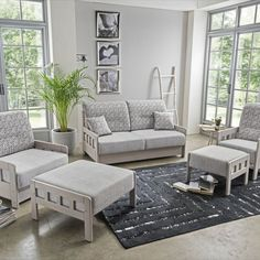 Hezký a hlavně praktický sedací nábytek, díky aplikaci masivního dřeva a funkcí rozkládání lůžek je vhodný nejenom do bytů, ale také na chalupu nebo chatu. Pružinové jádro - vhodné i pro trvalé spaní. Outdoor Furniture Sets, Outdoor Decor, Lounge, Couch, Home Decor, Chair, Airport Lounge, Drawing Rooms, Settee