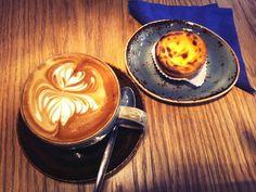 Latte Art at Synge & Byrne.