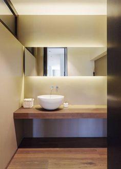 Objekt 336: moderne Badezimmer von meier architekten