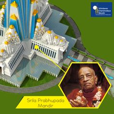 A special place is given to our Acharya, Srila Prabhupada in our hearts; so we are proud to give him a holy place in our grand temple. Help us in building this holy place