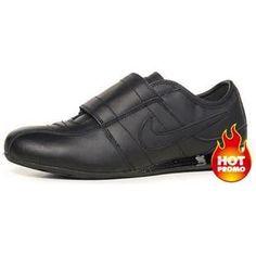 Mens Nike Shox R3 Velcro Full Black Cheap Nike da018e6a8