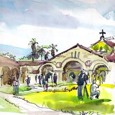 Wedding at Stanford Church, Palo Alto, California  $20
