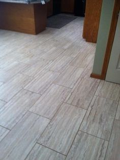 TrafficMASTER Ceramica, 12 in. x 24 in. Roman Travertine Beige Resilient Vinyl Tile Flooring (30 sq. ft. / case), 42837C at The Home Depot - Mobile