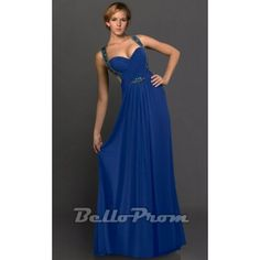 A Simple Halter Neck Long Evening Dress A4224  Price: $129.00  Buy now enjoy -10% Discount at BelloProm.com.