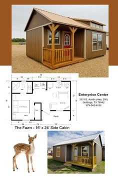 Tiny House Layout, Shed To Tiny House, Shed House Plans, Tiny House Cabin, Small House Design, Tiny House Living, Dream House Plans, House Layouts, Small Floor Plans