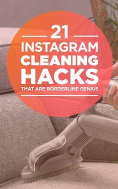 21 Instagram Cleaning Hacks That Are Borderline Genius