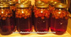 Grape juice canning made easy.