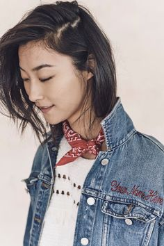 A personalized denim jacket from the Madewell spring 2016 collection.