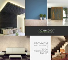 Just like your vote, these #Novacolor Decorative Wall Coatings and Special Architectural Paints can #MakeADifference on your #interior or #exterior wall design.
