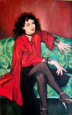 La Belle Rouge...by moi