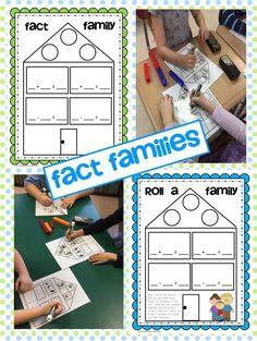 Fact Families FREEBIE  firstieland.blogspot.com