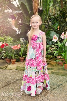 Mindy's Sweetheart Maxi and Sundress PDF Pattern | YouCanMakeThis.com Pdf Pattern, Sewing Clothing, Sewing Pattern, Mindy'S Sweetheart, Boutiques Sweetheart, Design Cr8Kidscoutur, Pattern Sewing, Sundresses Pdf, Sweetheart Maxis