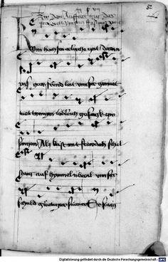Mönch von Salzburg. Oswald von Wolkenstein: Geistliche Lieder mit Melodien Bayern/Österreich, erste Hälfte 15. Jh.: 3. Viertel 15. Jh. Cgm 715 Folio 177