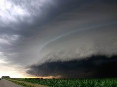 I wanted to be a tornado chaser for a while...