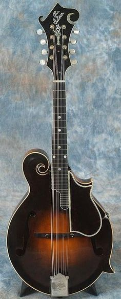 Gibson F-5 Mandolin~ signed and dated by Lloyd Loar on July 9, 1923 (same day as Bill Monroe's mandolin, which is #73987) Price: $215,000