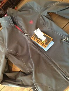14f720c84ef Kara I love my new ariat jacket you guys got me for my birthday-Paige