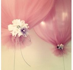 Balloon Decorations - Idea for Mum's 60th!