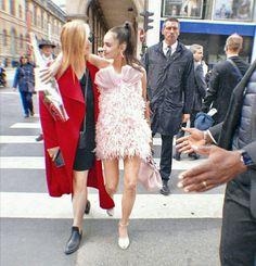 Sofia Carson, Lace Skirt, Sequin Skirt, Girls Dresses, Flower Girl Dresses, Couture Fashion, Sequins, Queen, Wedding Dresses