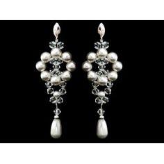Biżuteria ślubna z kryształami Swarovskiego® KR57