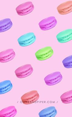 Download Macaron Wallpaper and Backgrounds for your Phone |  Pinterest: @oliveandpiper