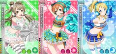 love live - cheerleaders