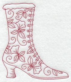 Vintage Victorian Embroidery Patterns | FREE REDWORK EMBROIDERY PATTERNS - EMBROIDERY DESIGNS