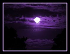 purple moon | Purple Moon by ~Justaminute on deviantART