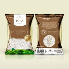 Create Organic influenced Packaging for Food items like rice, beans, lentils etc by Dark Blue