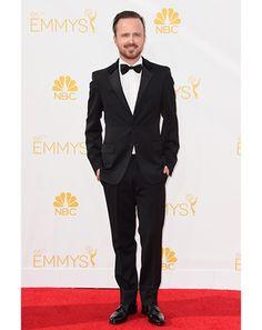 Breaking Bad's Aaron Paul looks dapper in Prada #Emmys2014