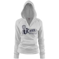 NCAA UConn Huskies Women s White Rugby Distressed « Clothing Impulse Unc  Apparel 58658f7f076f2