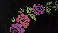 This Pin was discovered by Ham Cross Stitch Designs, Cross Stitch Patterns, Prayer Rug, Embroidery, Album, Crochet, Cross Stitch Embroidery, Flower Types, Crossstitch