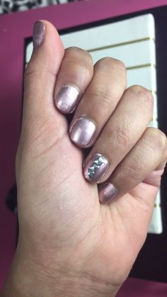 Metallic Nail Polish Trend