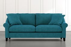 Living Room Decor Pieces, Teal Sofa, Small Couch, Wood Dust, Engineered Wood, Accent Pillows, Seat Cushions, Love Seat, Diy Home Decor