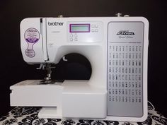 How To Thread Your Brother CE8080PRW Computerized Sewing Machine and understand the basics