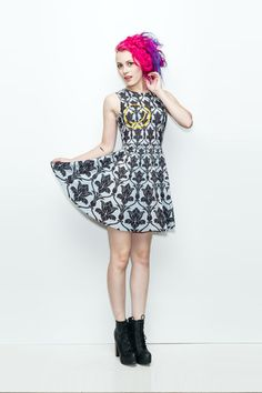 Bored A-Line Dress (LIMITED) - Gold Bubble Clothing $79     *MAKES INCOHERENT SQUEALING NOISES*