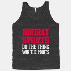 Hooray Sports  American Apparel Athletic Black by ActivateApparel, $29.00
