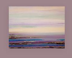 Pintura acrílica océano paisaje acrílico arte pintura