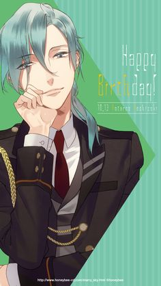 Anime Boy, Starry Sky, Blue Sky, Starry, Art, Character