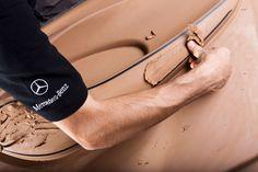 Mercedes-Benz - Full-scale interior design clay model - Car Body Design