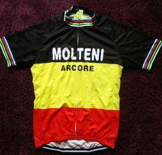f93f6d91f champ belgium Molteni merckx cycle cycling jersey retro vintag NWT xl xxl