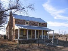 ranch house mason texas | The Hasse House was built in 1883 on the site of the original log ...