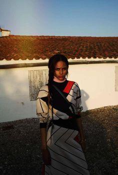 Binx Walton by Cedric Buchet for Elle France August 2015