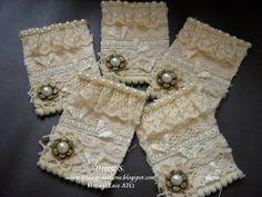Vintage Lace ATCs Swap   at MSR...