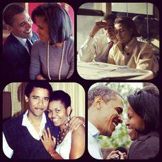 From Malia's Facebook page. President Love. relationship, peopl, memor moment, famili, presid obama, michell obama, beauti, celebr coupl, barack obama