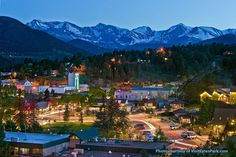 Nature-lovers can have a stellar family vacation in downtown Estes Park before heading on to the stunning Rocky Mountain National Park.
