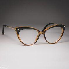 Fashion Women Glasses Frame Sports Eyeglasses Cheap Progressive Glasses See Eyewear Frames Fake Glasses, Cat Eye Glasses, Pandora Charms, Cat Eye Colors, Womens Glasses Frames, Computer Glasses, Cute Sunglasses, Designer Eyeglasses, Gucci